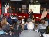 Wethouder van buurgemeente Hilversum, Eric van der Want, vertelde tijdens een workshop over hun aanpak en ervaring met de transformatie sociaal domein.